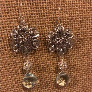 Aquinnah Custom Made Bridal Earrings